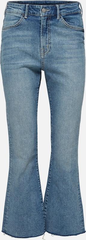 SELECTED FEMME Stiefelcut-Jeans in Blau denim  Große Preissenkung