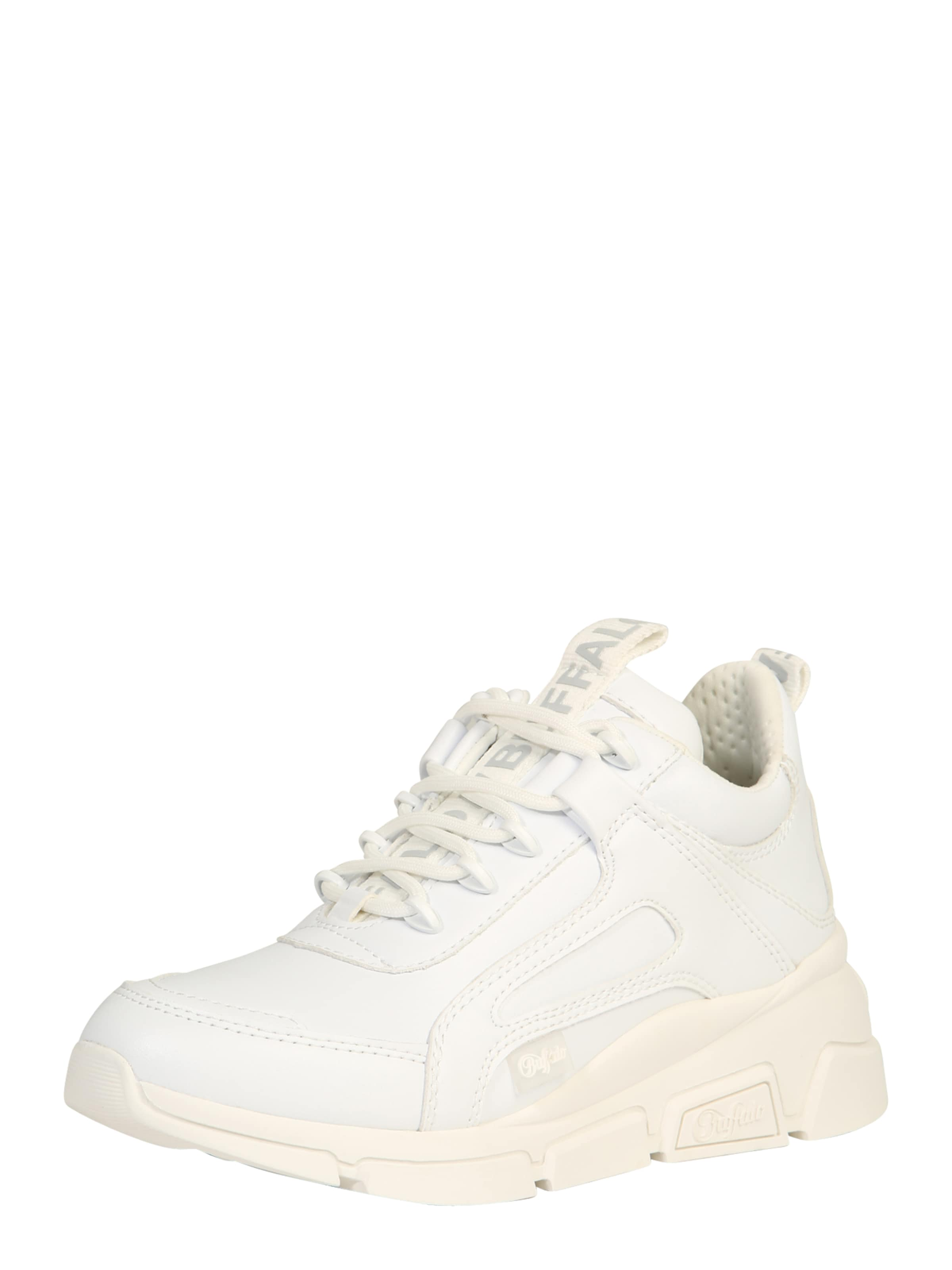 BUFFALO Låg sneaker 'BATTER' i vit