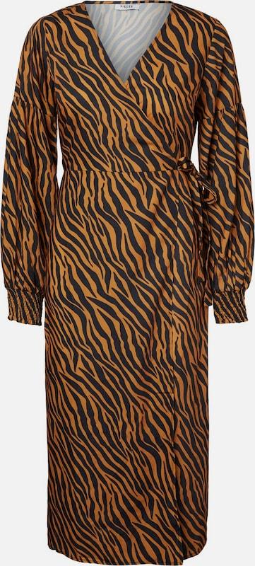 PIECES Kleid in Gold   schwarz  Markenkleidung für Männer und Frauen