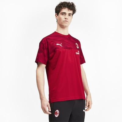 PUMA Tricot 'AC Mailand' in de kleur Vuurrood / Zwart / Wit: Vooraanzicht