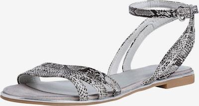 TAMARIS Remienkové sandále - béžová / tmavosivá, Produkt
