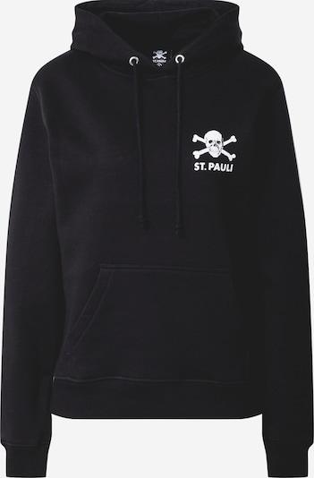 FC St. Pauli Sportief sweatshirt 'Totenkopf II' in de kleur Zwart, Productweergave
