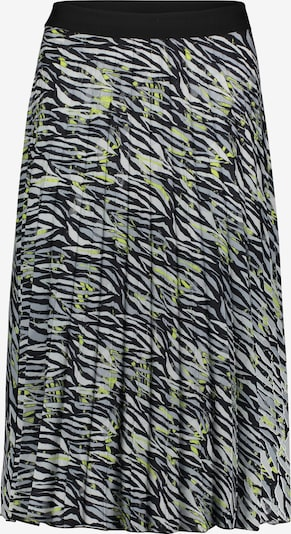 Betty Barclay Plisseerock mit Muster in gelb / grau, Produktansicht