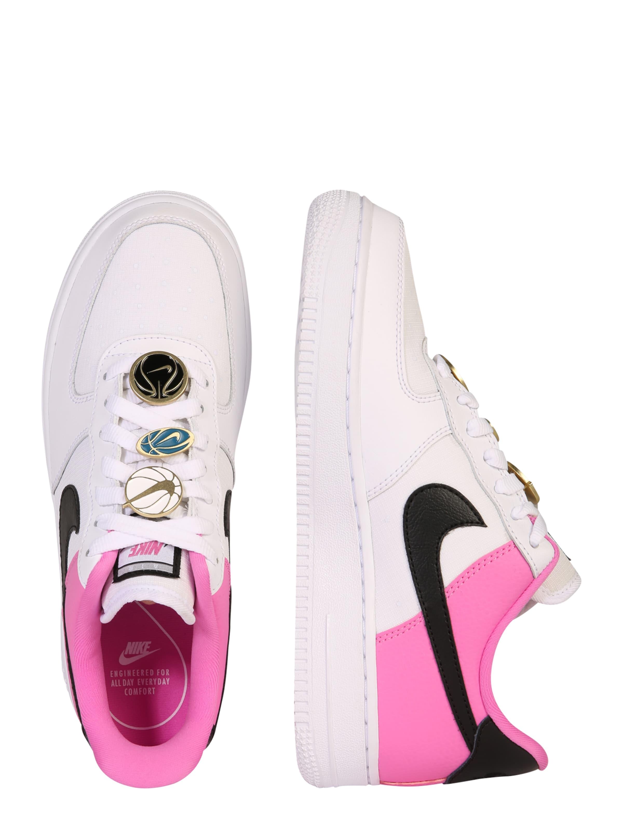 'air In Sneaker Sportswear 107' PinkSchwarz Force Weiß Nike OkuPZiXT