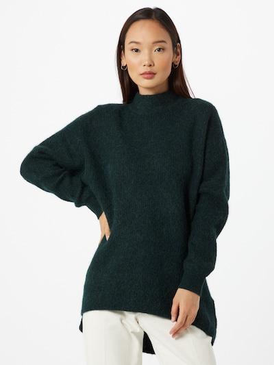 SELECTED FEMME Pullover 'Enica' in dunkelgrün, Modelansicht