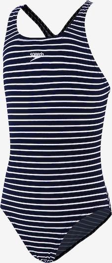 SPEEDO Badeanzug in blau / weiß, Produktansicht