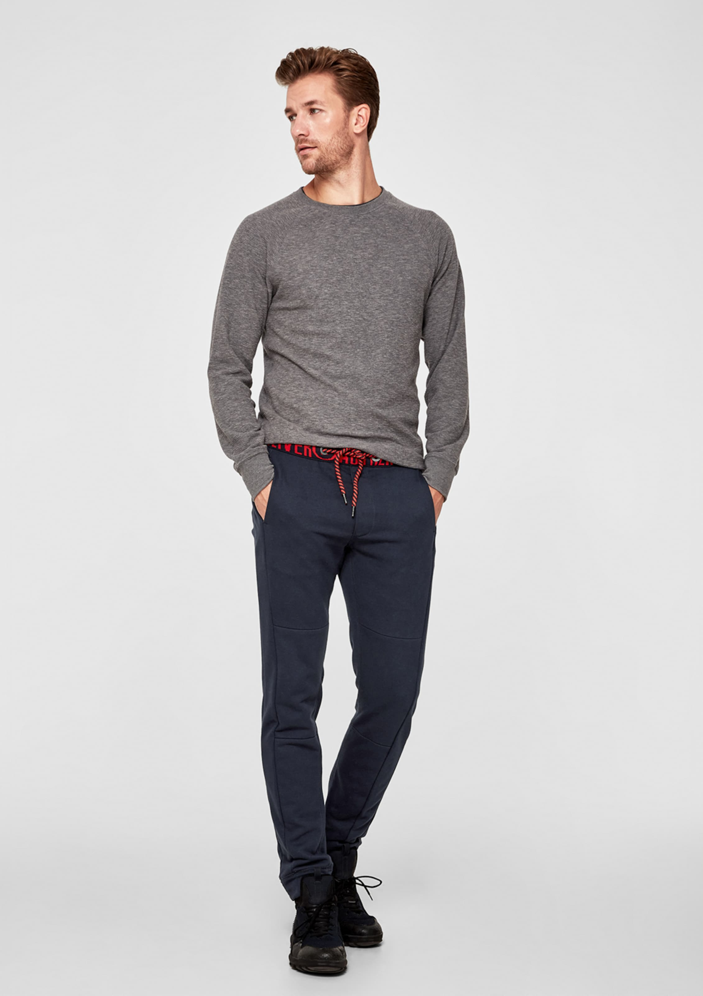 Red Label oliver NachtblauHellrot S Sweatpants In LVqpSUGzM
