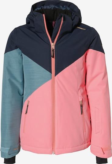 BRUNOTTI Skijacke 'Sheerwater' in nachtblau / himmelblau / koralle, Produktansicht