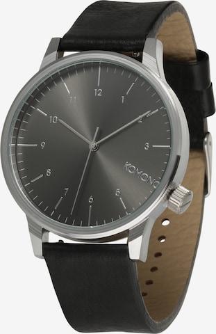Komono Analog Watch 'Winston Regal' in Black