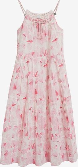 NEXT Kleid in rosa / naturweiß: Frontalansicht