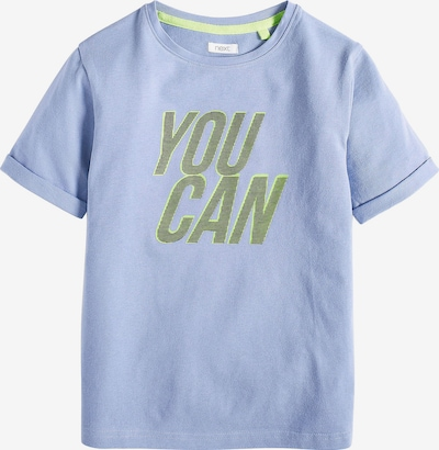NEXT T-Shirt in hellblau / grün, Produktansicht