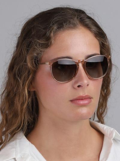 Pilgrim Sonnenbrille 'Vanille' in braun, Modelansicht