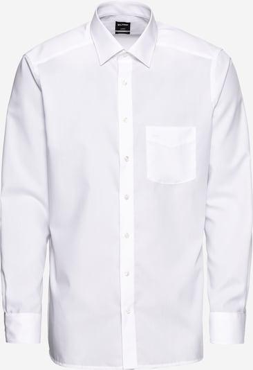 OLYMP Hemd 'Luxor Uni Pop' in weiß, Produktansicht