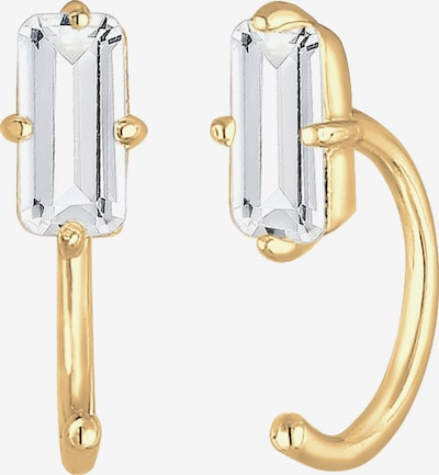 ELLI PREMIUM Boucles d'oreilles en or / blanc, Vue avec produit