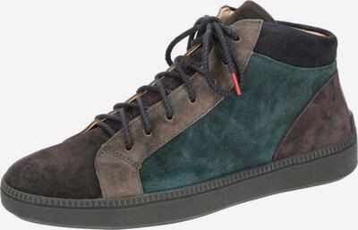 THINK! Sneakers in blau / braun / dunkelgrau, Produktansicht