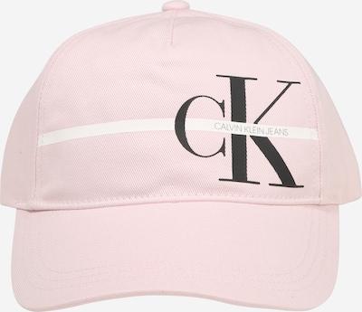 Calvin Klein Jeans Czapka w kolorze różowy pudrowy / czarnym, Podgląd produktu