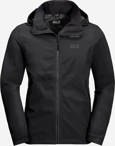 JACK WOLFSKIN Chaqueta de montaña 'EVANDALE JACKET M' en negro, Vista del producto