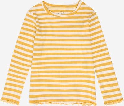 NAME IT Shirt 'Emma' in honig / weiß, Produktansicht