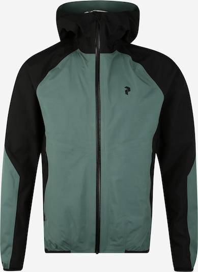 PEAK PERFORMANCE Športna jakna 'PAC' | zelena / črna barva, Prikaz izdelka