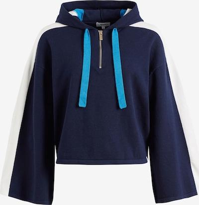 khujo Trui ' ZENGINA ' in de kleur Blauw, Productweergave