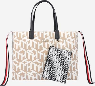 TOMMY HILFIGER Nákupní taška - béžová / bílá, Produkt
