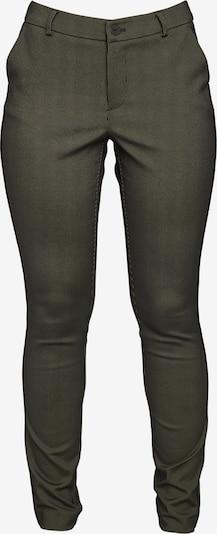 ECHTE Chino 'Ebony' in de kleur Olijfgroen, Productweergave