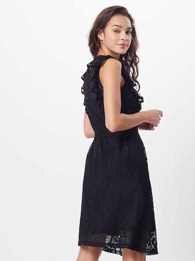 SISTERS POINT Kleid 'ETTO-DR' in schwarz: Rückansicht