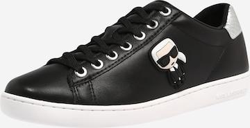 Karl Lagerfeld Sneakers 'KUPSOLE II Karl Ikonic' in Black