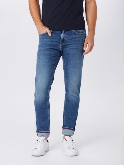 Tommy Jeans Jean 'SCANTON' en bleu denim, Vue avec modèle