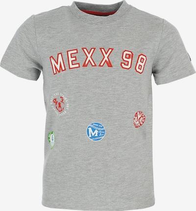 MEXX T-Shirt in blau / grau / grün / rot / weiß, Produktansicht