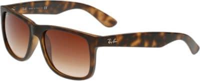 Ray-Ban Sonnenbrille 'Justin' in braun, Produktansicht