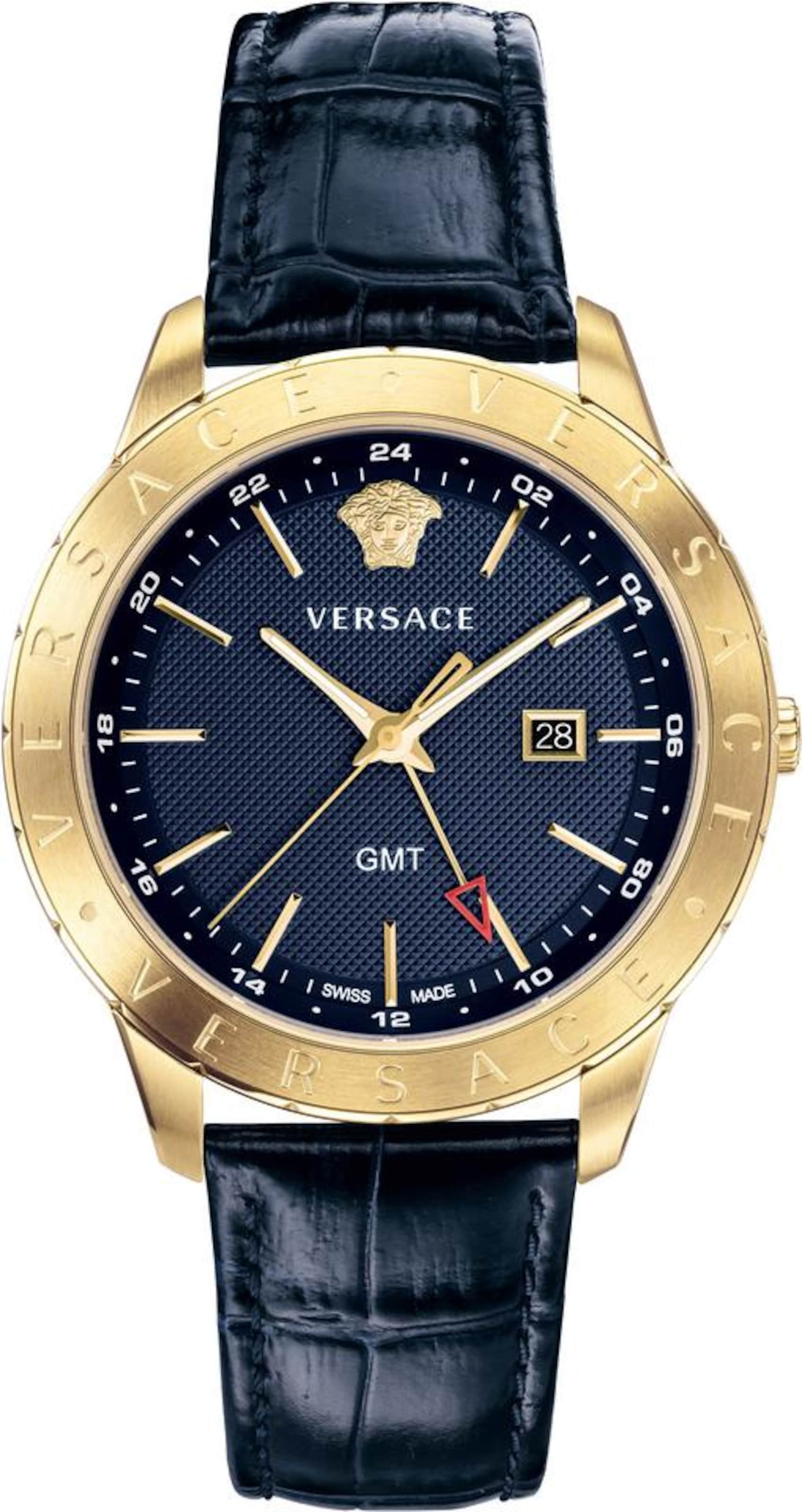 In 'univers' Uhr Uhr Versace NachtblauGold Versace O0Pnwk