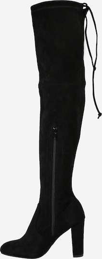 ABOUT YOU Over the Knee Boots 'Liya' in Black: Side view
