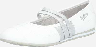 Dockers by Gerli Ballerina in Silver / White, Item view
