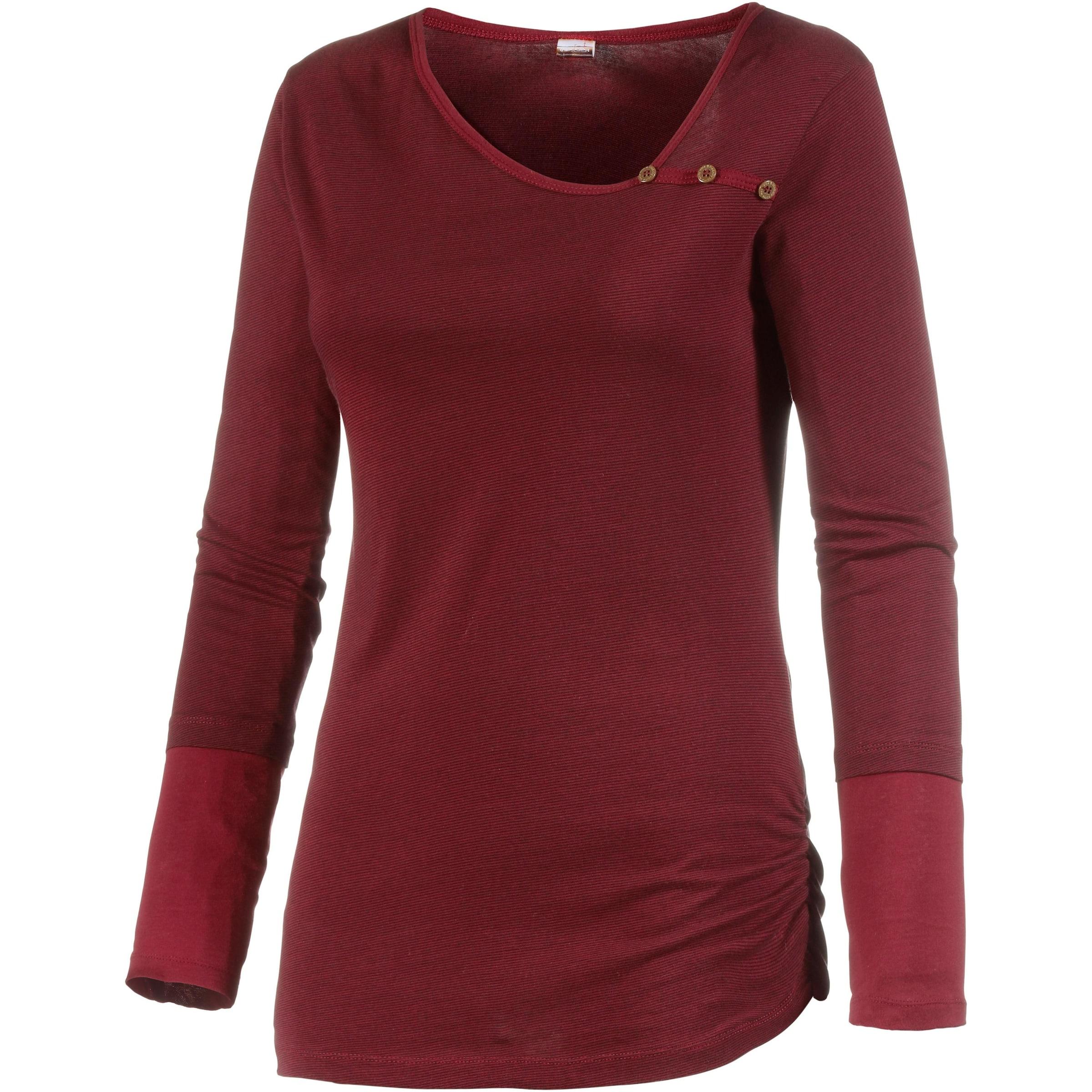 T Bordeaux Iriedaily En shirt 0XnwP8Ok