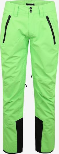 CHIEMSEE Outdoorbroek in de kleur Neongroen, Productweergave