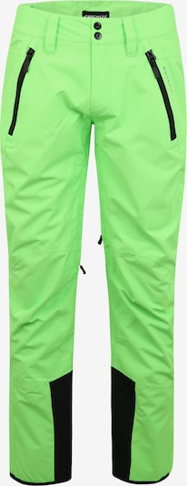 Pantaloni outdoor CHIEMSEE pe verde neon, Vizualizare produs