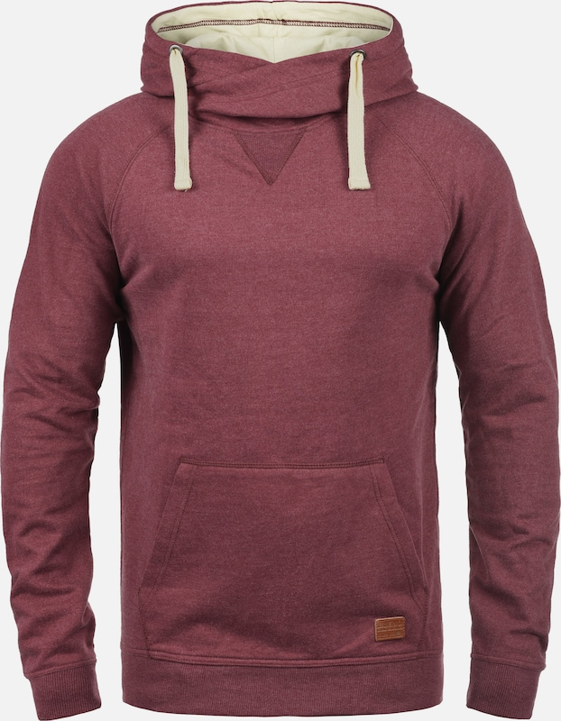 BLEND Hoodie '703585ME' in lila / rotviolett: Frontalansicht
