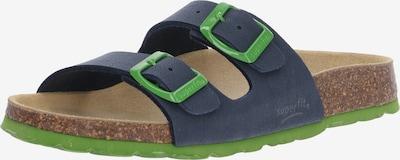 SUPERFIT Mājas apavi pieejami tumši zils / kaļķa, Preces skats