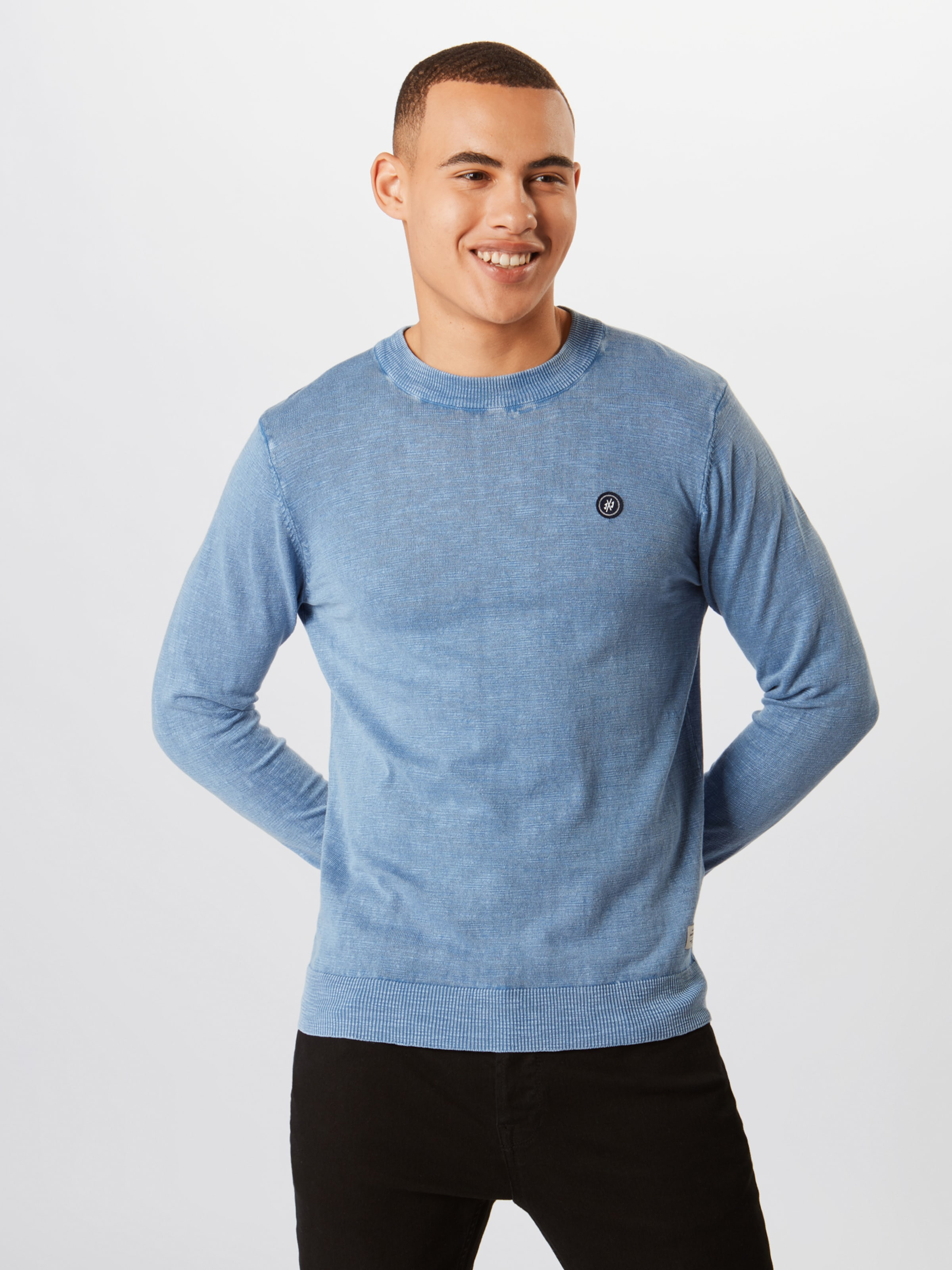 'orsly Jones Neck' Rauchblau Crew Pullover Knit Jackamp; In droBCxe