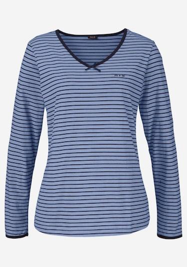 H.I.S Pyjama in de kleur Blauw, Productweergave