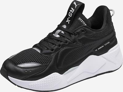 fekete / fehér PUMA Rövid szárú edzőcipők 'RS-X Soft Case', Termék nézet