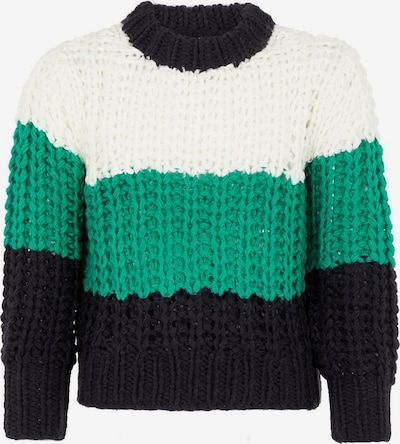 NAME IT Pullover in navy / jade / weiß, Produktansicht