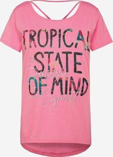 Soccx T-Shirt mit dekorativem Rücken-Design in rosa, Produktansicht
