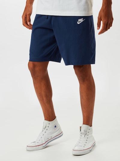 Nike Sportswear Sweatshorts in marine, Modelansicht