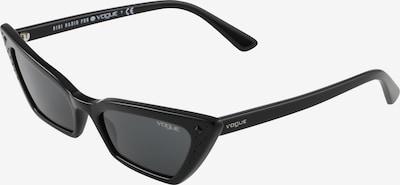 VOGUE Eyewear Lunettes de soleil 'SUPER' en noir: Vue de face