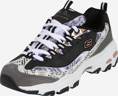SKECHERS Sneaker 'D´Lites Runway Ready' in grau schwarz oSQB6