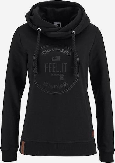 OCEAN SPORTSWEAR Kapuzensweatshirt in schwarz, Produktansicht