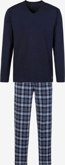 s.Oliver Pyjama in marine / hellblau, Produktansicht