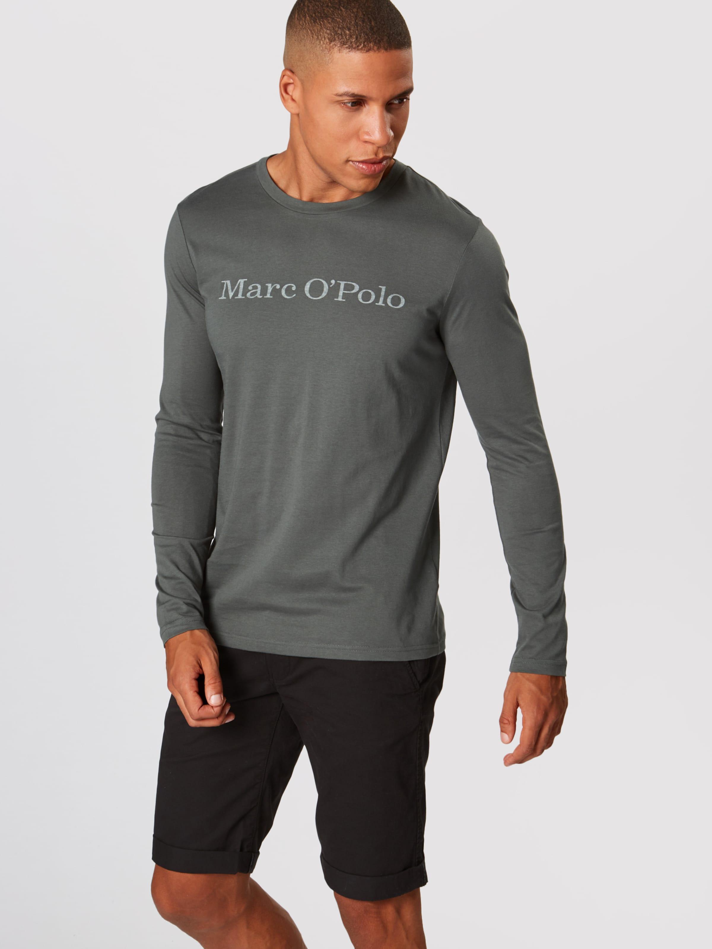 En shirt T Foncé Marc Vert O'polo CBoWdrxe